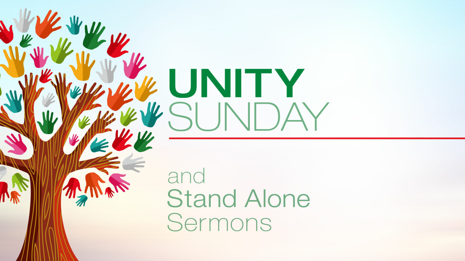 Unity Sunday and Thanksgiving Focus